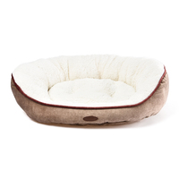 Charles Bentley Memory Foam Pet Bed Taupe / Large