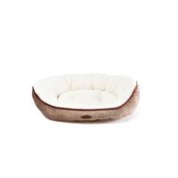 Charles Bentley Memory Foam Pet Bed Taupe / Medium