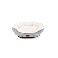 Charles Bentley Soft Large Grey Pet Bed / Small